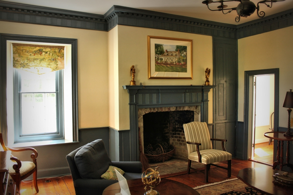 Parlor at Retreat Plantation 2014 Beaufort