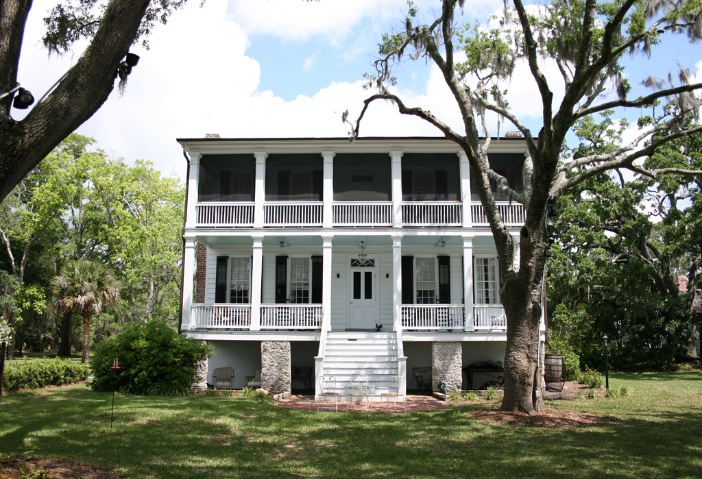 Tombee plantation st helena island beaufort county for Plantation house
