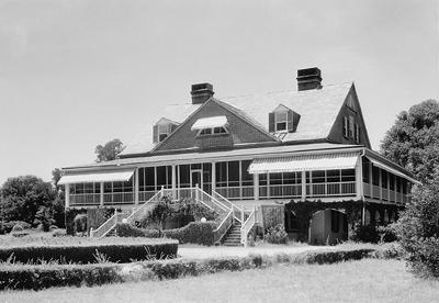 Dean Hall Plantation 1939, Carson House - Berkeley County, South Carolina