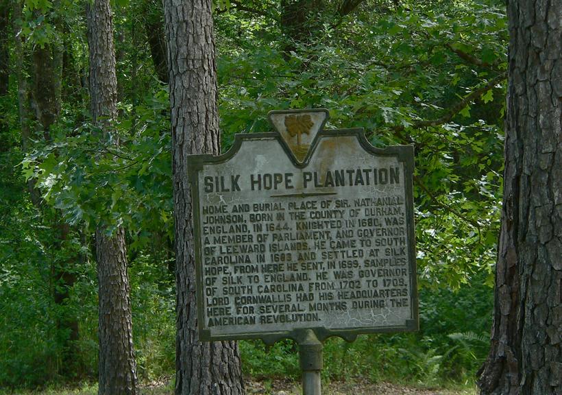 Silk Hope Plantation Huger Berkeley County South