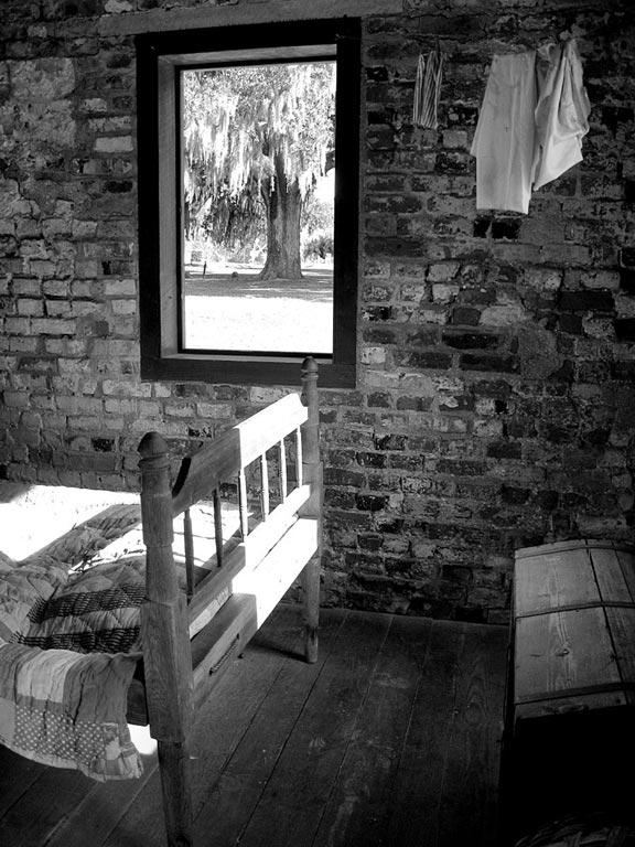 Boone Hall Plantation Slave Cabin 2009   Charleston County, South Carolina