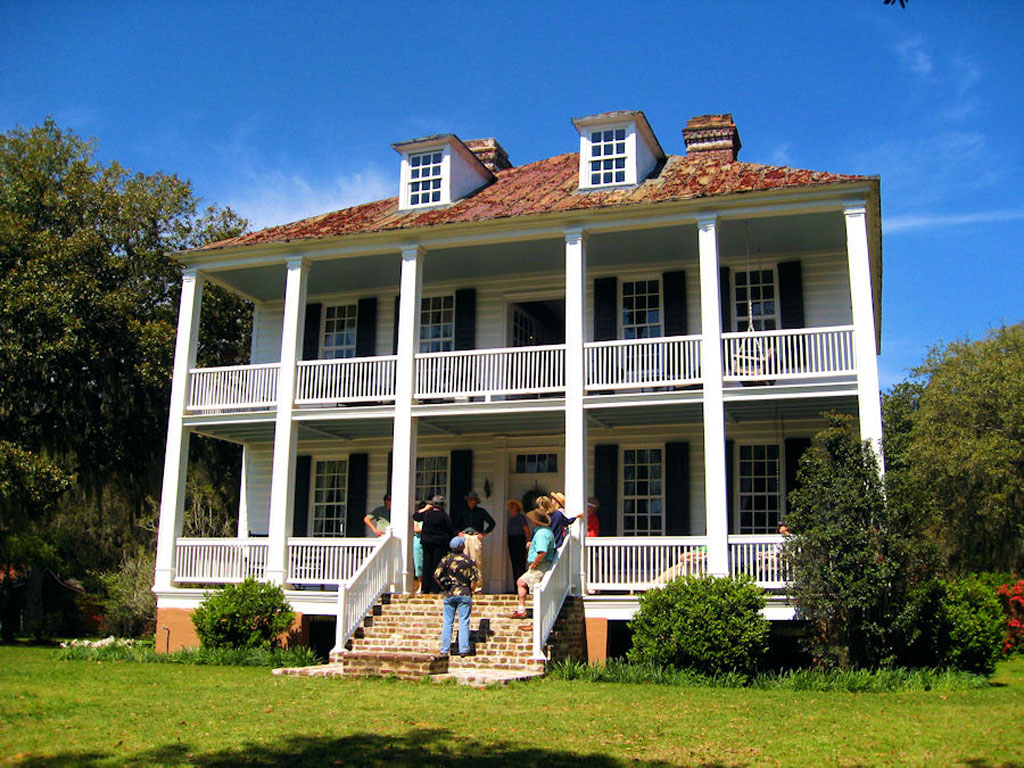 Hopsewee plantation georgetown georgetown county south for Plantation house