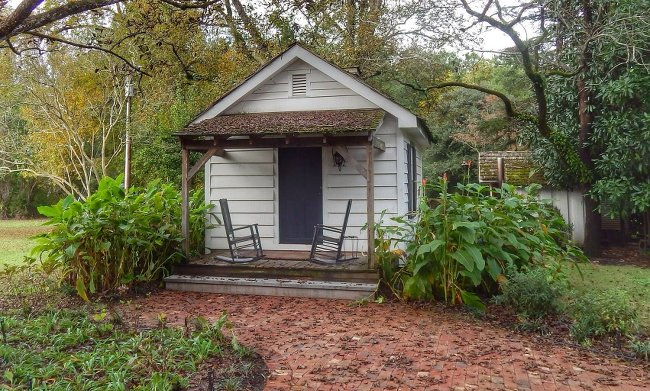 Plantation Kitchen House tanglewood plantation - lynchburg, lee county, south carolina sc